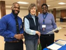 Joshua Wilcox, Kay Ramsey, and Andrea Clark
